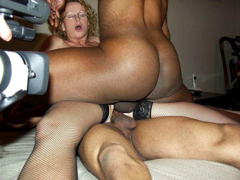 Mature amateur interracial sex
